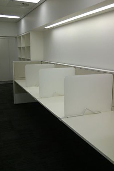 office desk separators