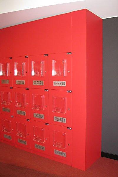 plastic display units