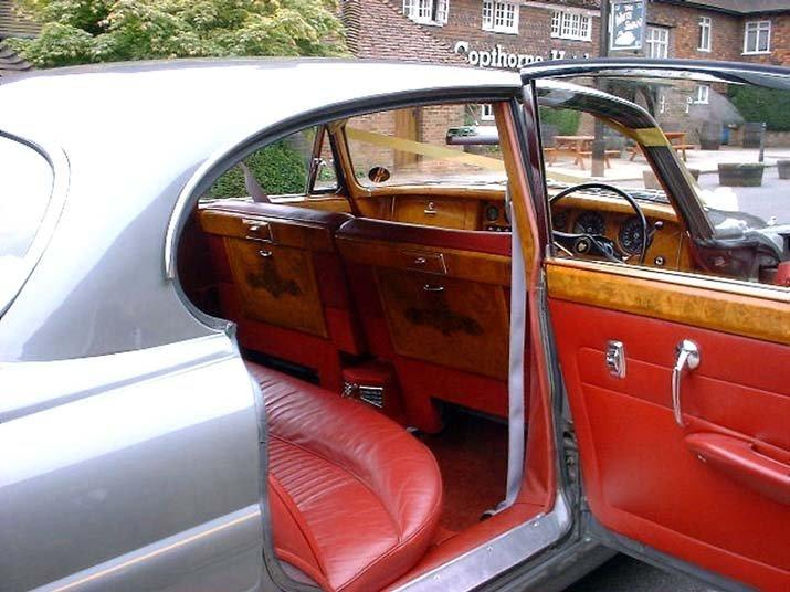 partially open car doors