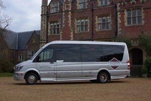 minibus hire for weddings