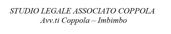 STUDIO LEGALE ASSOCIATO COPPOLA - LOGO