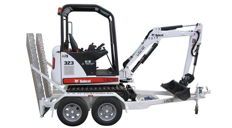 1.5 ton bobcat 323