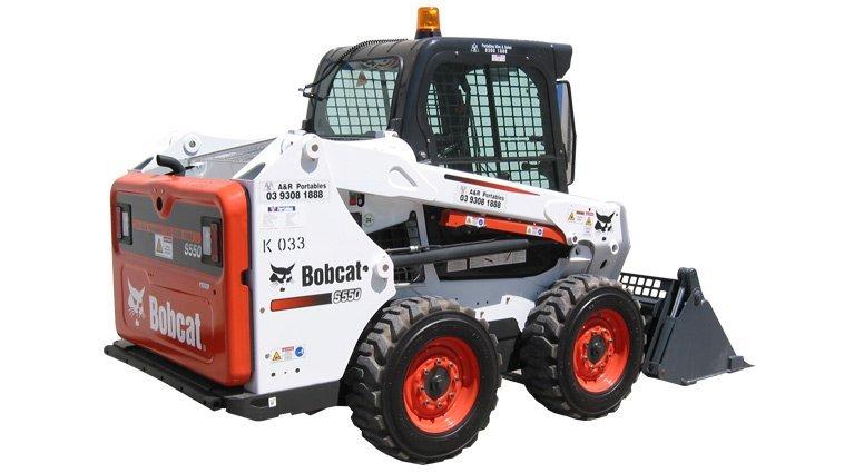 Bobcat twin steer loader 2.9 ton