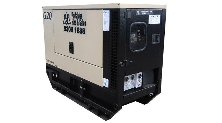 Ingersoll Rand G20. 20KVA Generators