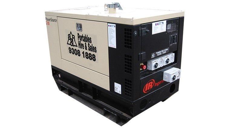 Ingersoll Rand G10. 10KVA Generators