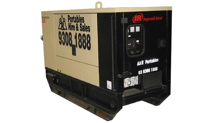 Ingersoll Rand G30. 30KVA Generators