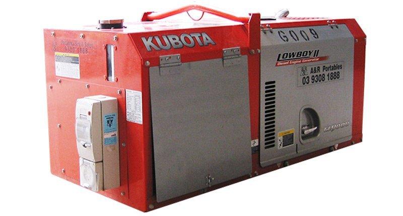 Kubota lowboy gl9000series2. 9kva
