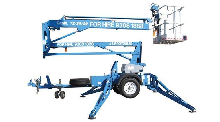 Boom lift 10.36m genie tz-34-20