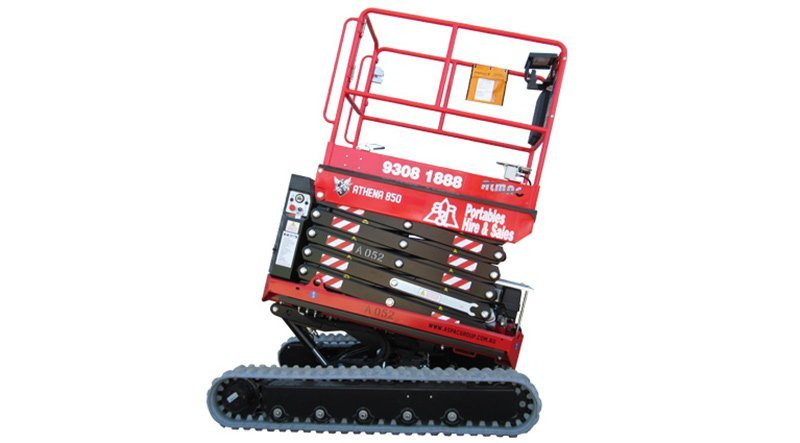 Rough Terrain Electric Scissor Lift