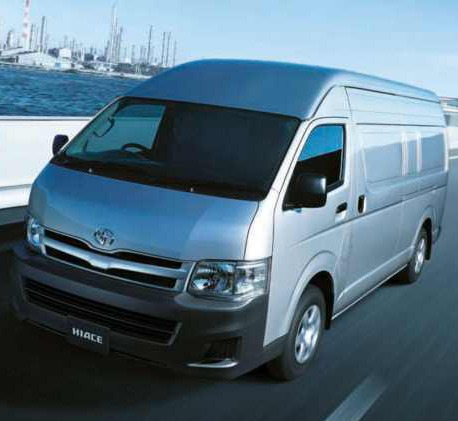 Transport van complying on  the fleet strategy condition