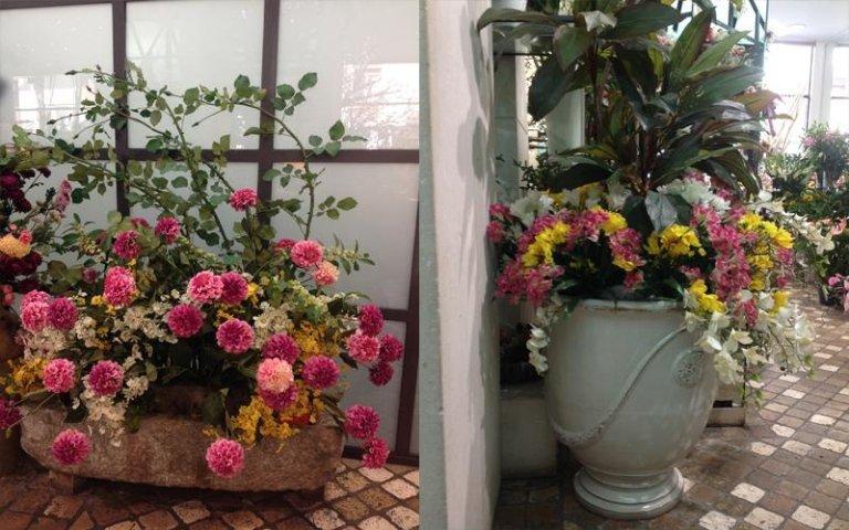fiori finti vari