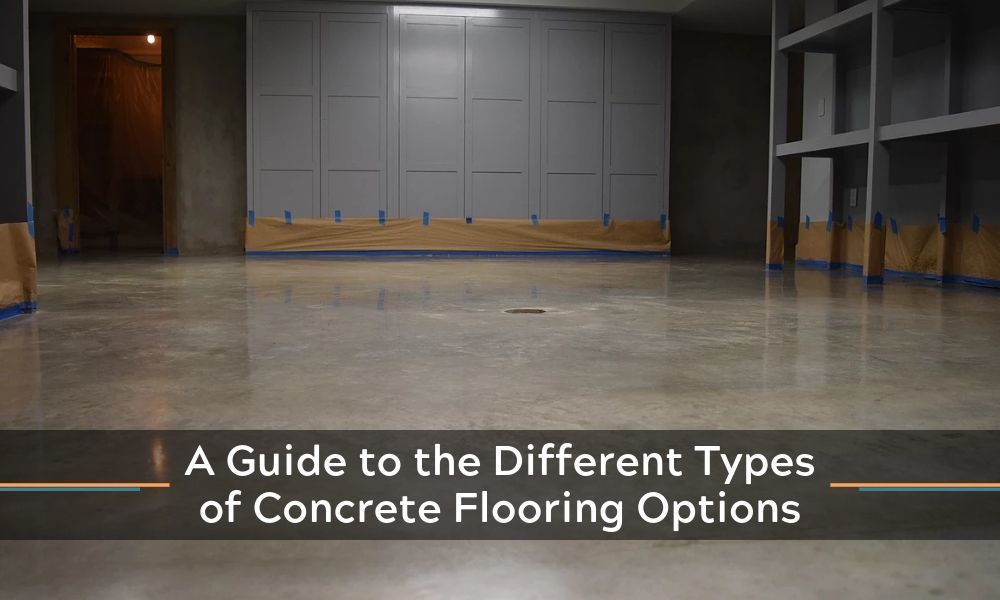 A Guide To The Different Types Of Concrete Flooring Options