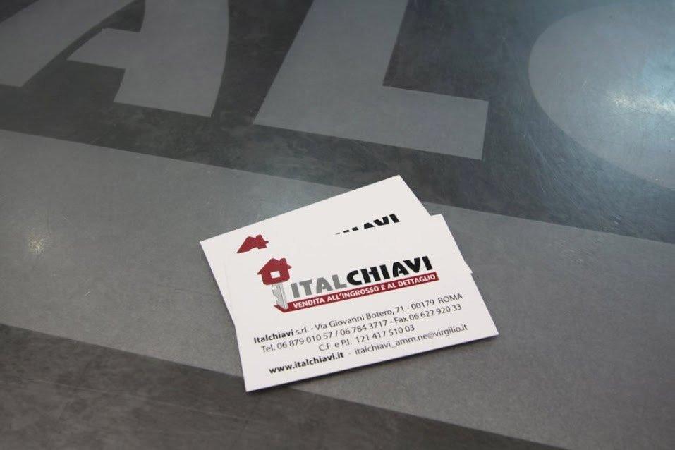 biglietto da visita italchiavi