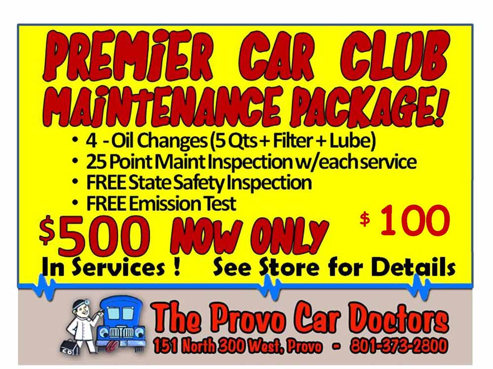 Provo Car Doctors Coupon