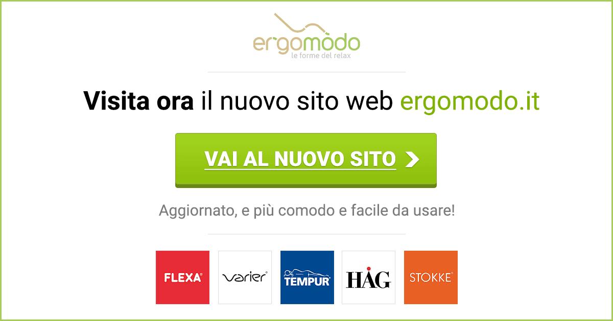 Visita ora il nuovo sito web Ergomodo.it