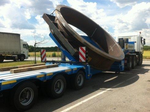 trasporto materiale ingombrante