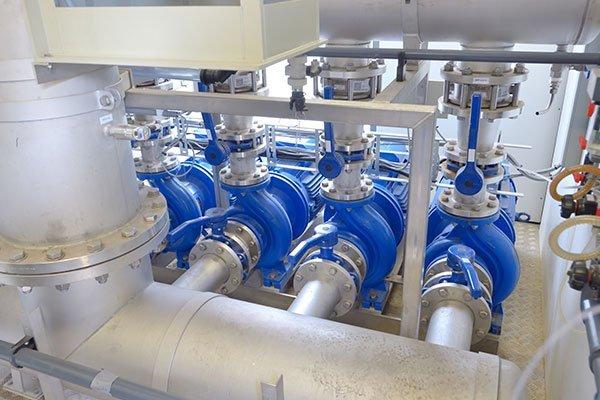 Tubazioni in acciaio al carbonio e acciaio inox per il trasporto di fluidi