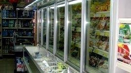 banco frigo per supermercati