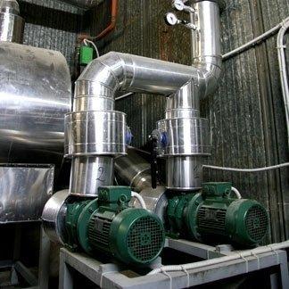 impianto di nebulizzazione