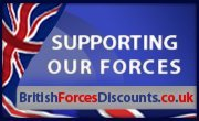 Support our forces logo