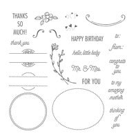 That's The Tag Photopolymer Stamp Set