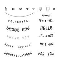 Any Occasion Photopolymer Stamp Set