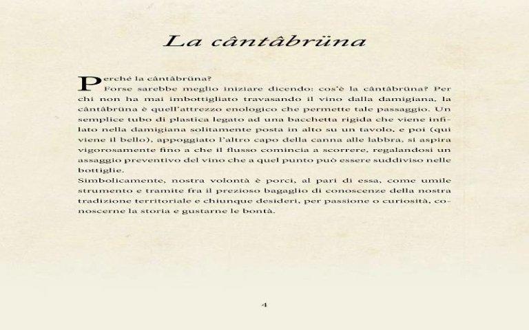 Pagine Ricettario Cantabruna