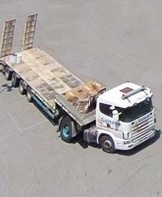 servizio di trasporto con bisarca