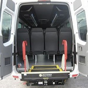 wheelchair friendly minibuses