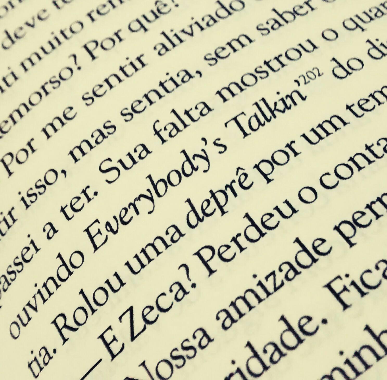 Desapego - O Livro, Everybody's Talkin
