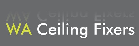 wa ceiling fixers business logo