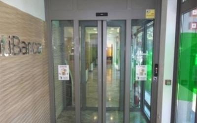 porte scorrevoli di sicurezza per banche