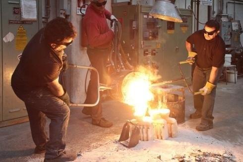 Stahlguss bei hohen Temperaturen