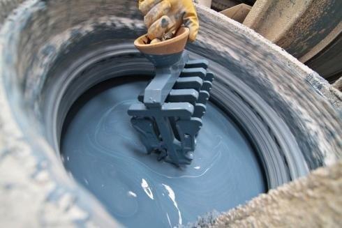 Färben von Stahlprodukten