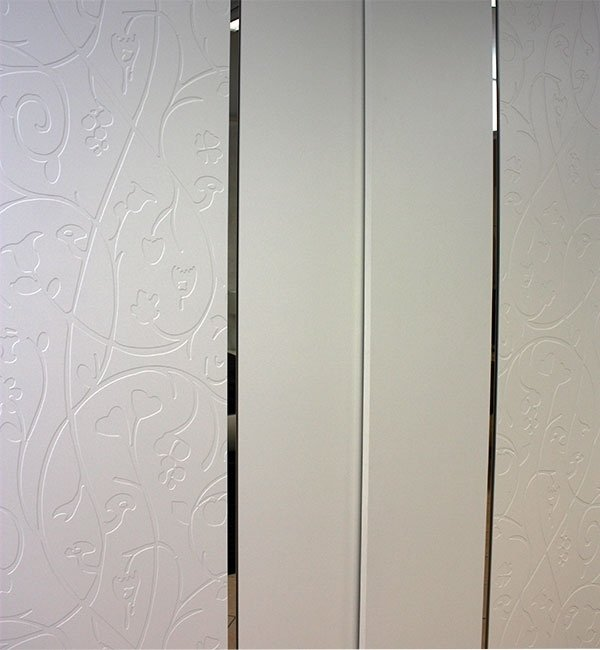 wardrobe with reliefs