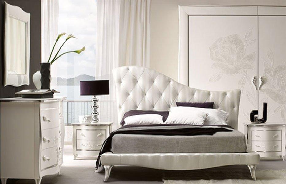 современные спальни с двуспальными кроватями