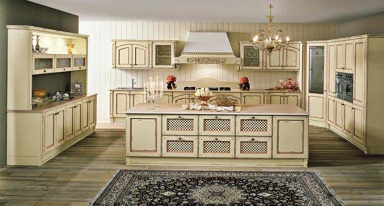 classic beige kitchen