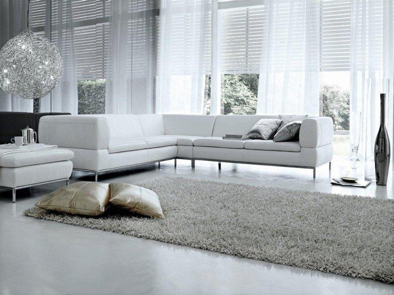 современные диваны белого цвета