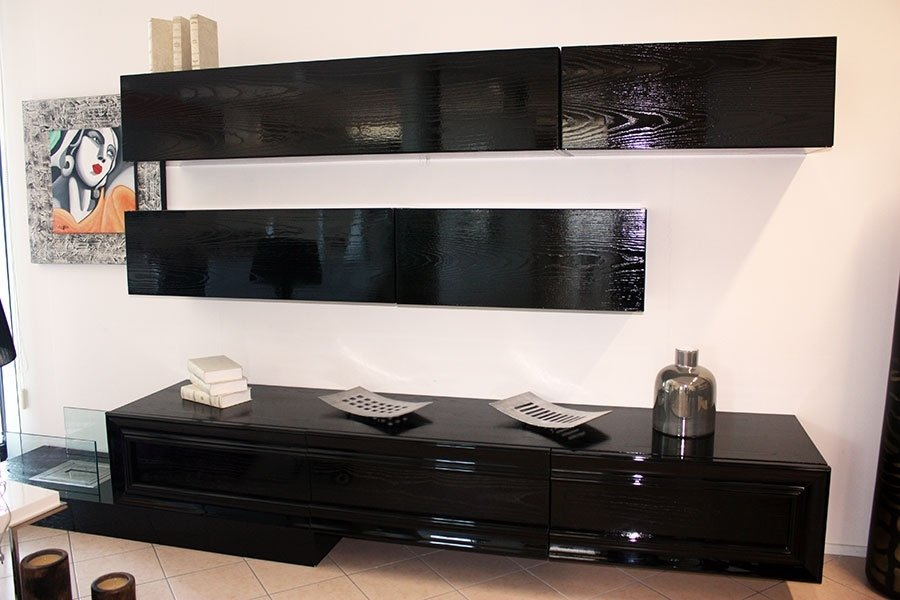 modern black furniture