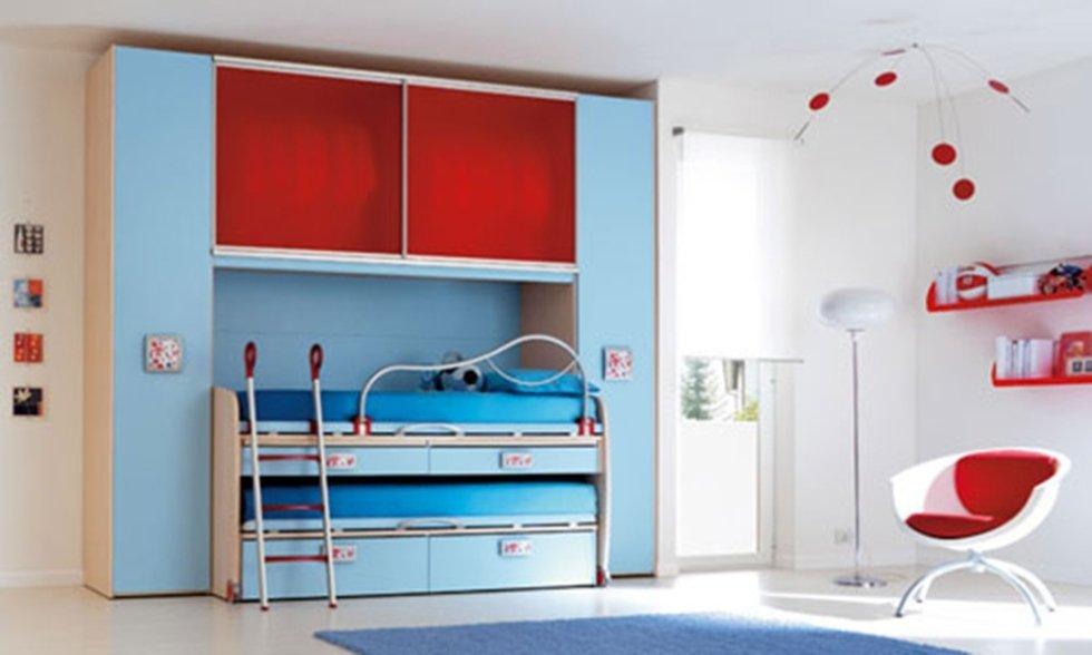 modern children's bedroom