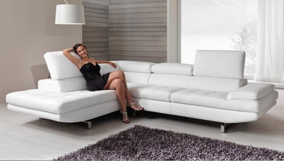 reclining 6-seater sofa
