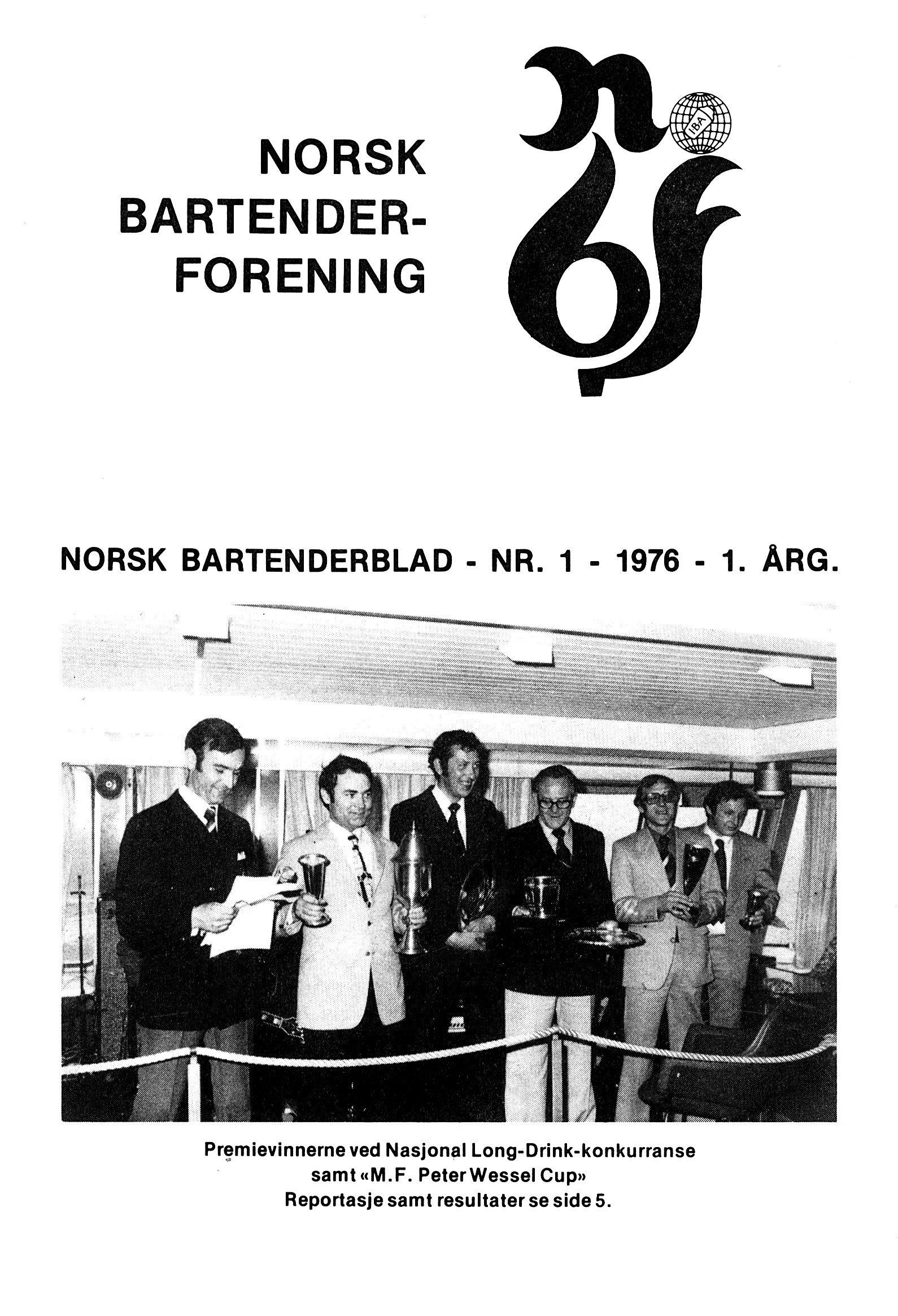 NB 1976 ÅRGANG 1 | Nr. 1 | Side 1