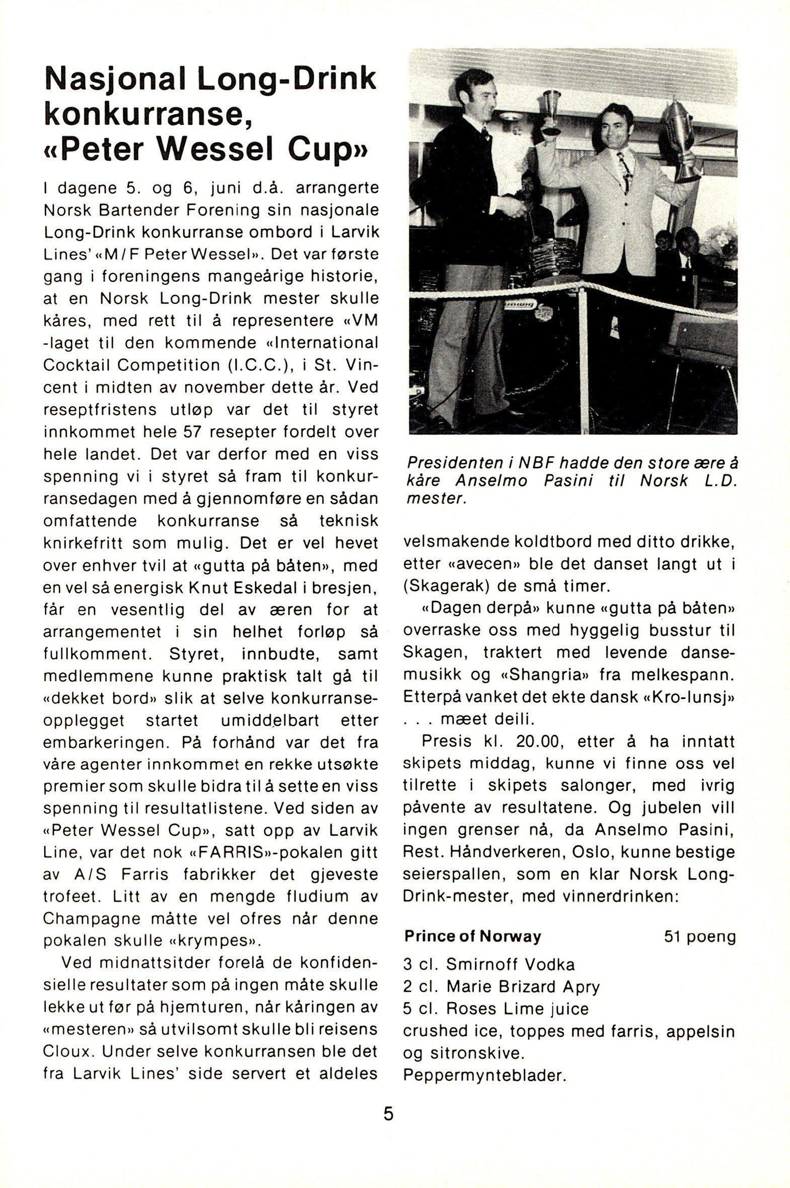 NB 1976 ÅRGANG 1 | Nr. 1 | Side 5