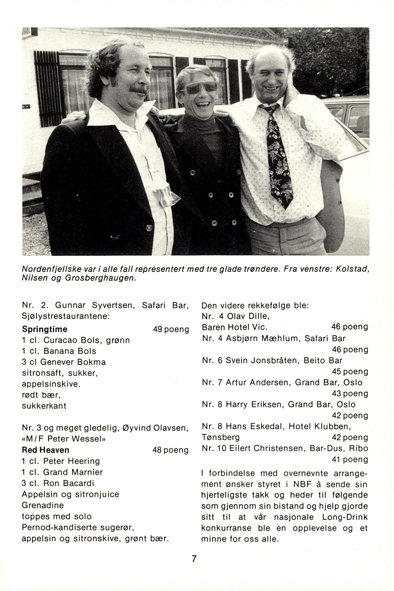 NB 1976 ÅRGANG 1 | Nr. 1 | Side 7