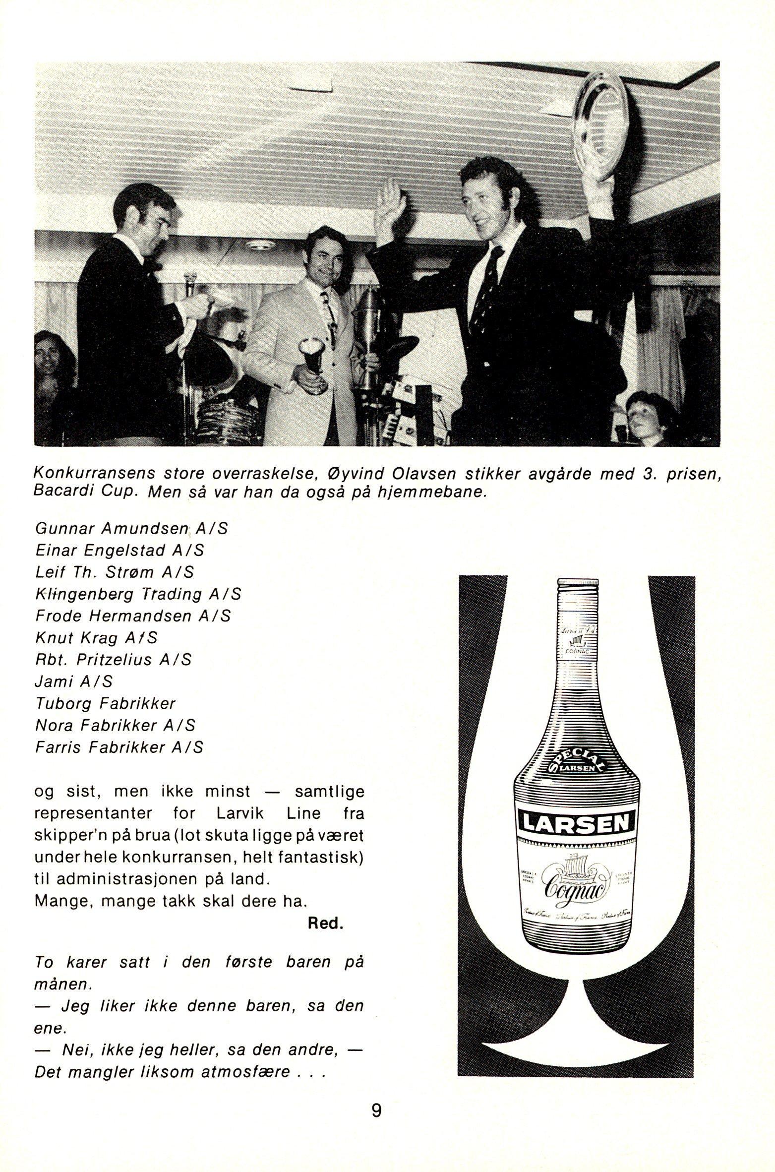 NB 1976 ÅRGANG 1 | Nr. 1 | Side 9