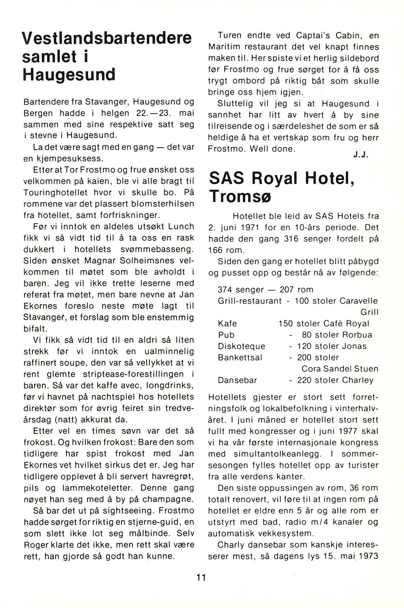 NB 1976 ÅRGANG 1 | Nr. 1 | Side 11