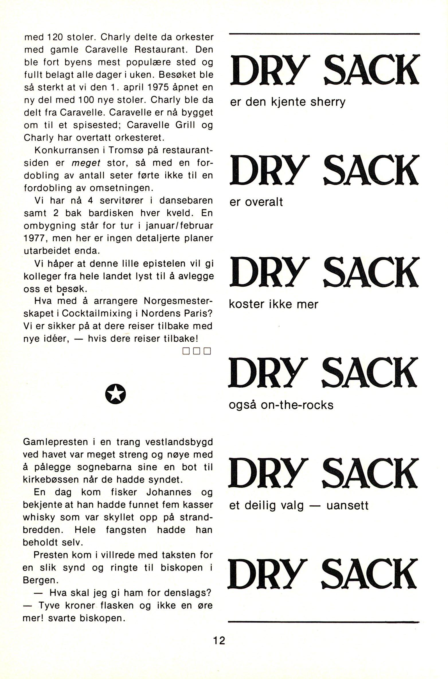 NB 1976 ÅRGANG 1 | Nr. 1 | Side 12
