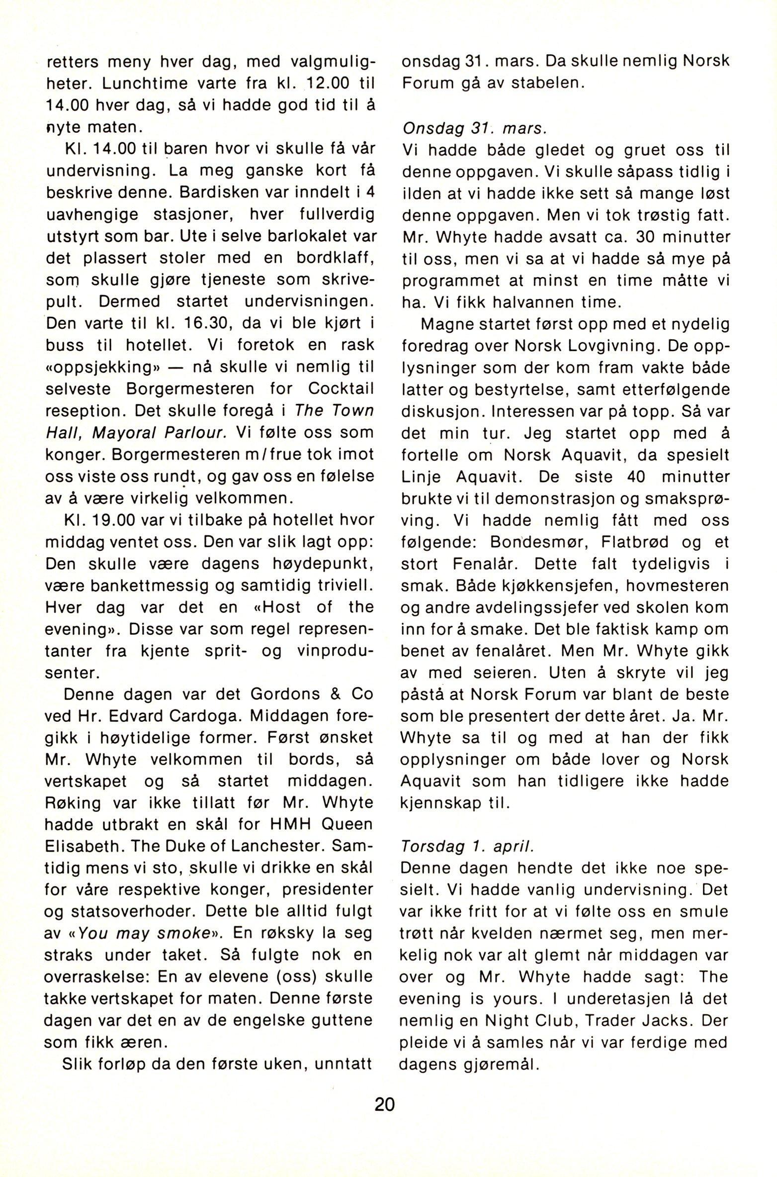 NB 1976 ÅRGANG 1 | Nr. 1 | Side 20