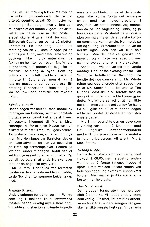 NB 1976 ÅRGANG 1 | Nr. 1 | Side 22