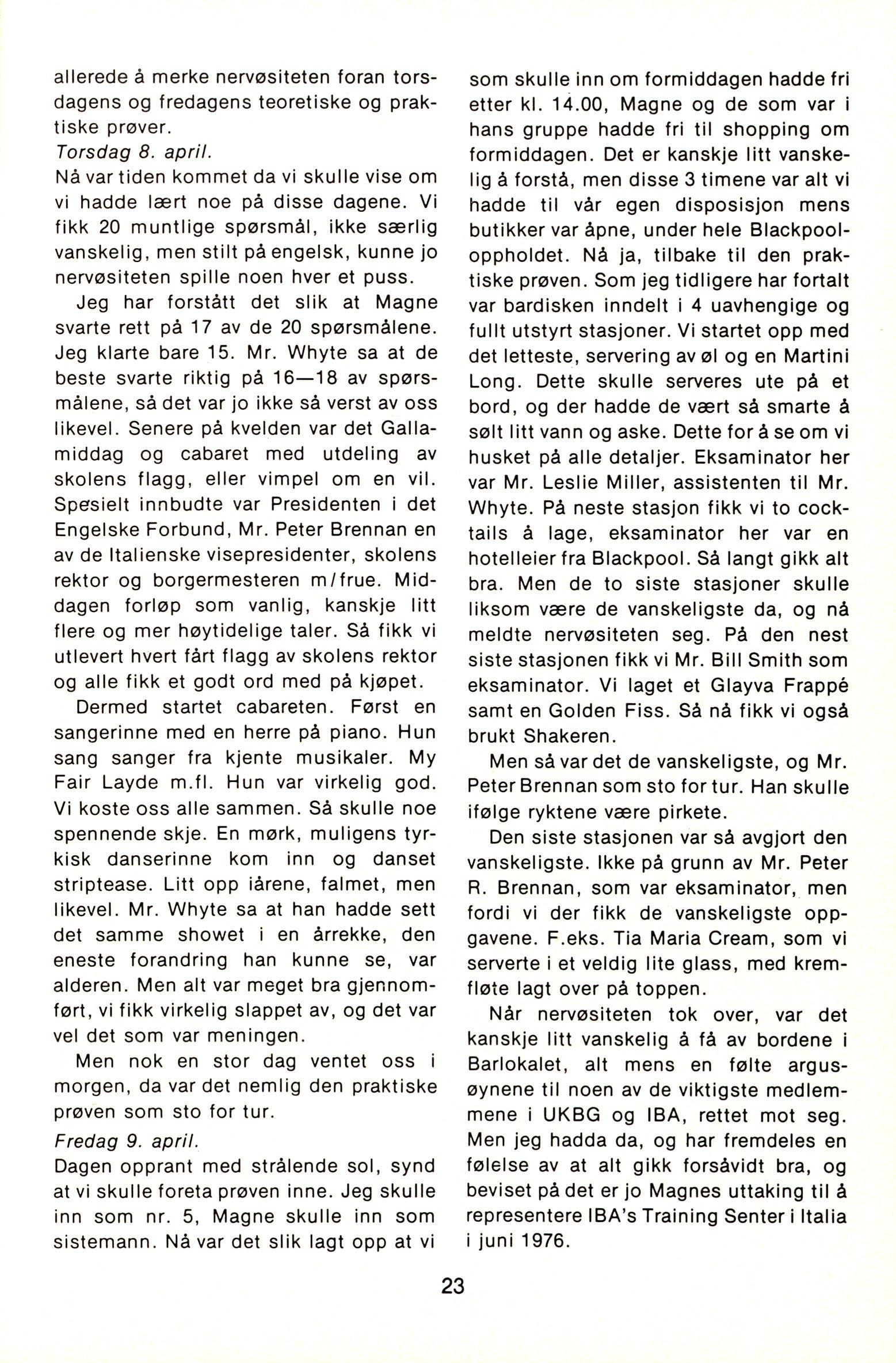 NB 1976 ÅRGANG 1 | Nr. 1 | Side 23